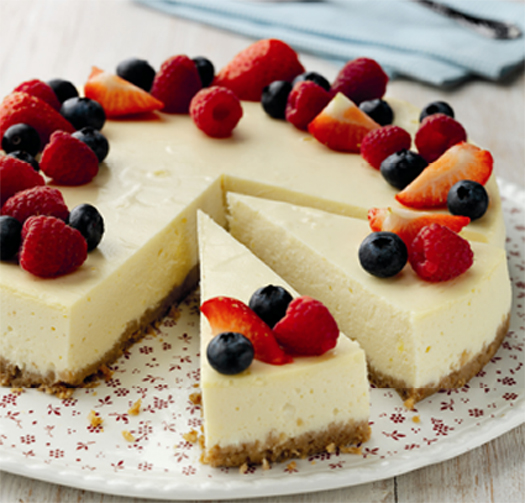 ... and creamy decadence of a New York Cheesecake, but not as naughty