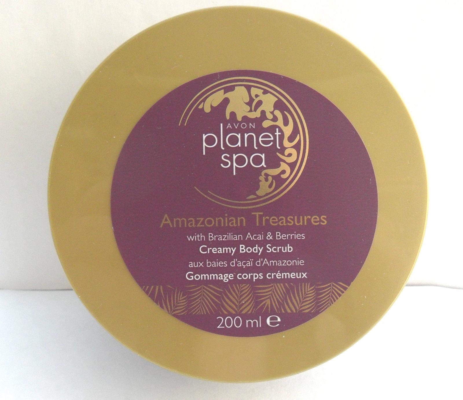Review avon amazonian treasures planet spa creamy body for Plante salon