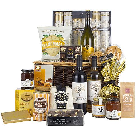 www.Lifeandsoullifestyle.com - Festive Hampers - John Lewis Golden Glimmer Hamper