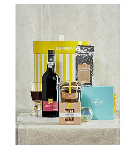 www.Lifeandsoullifestyle.com - Festive Hampers - SELFRIDGES SELECTION After dinner gift box